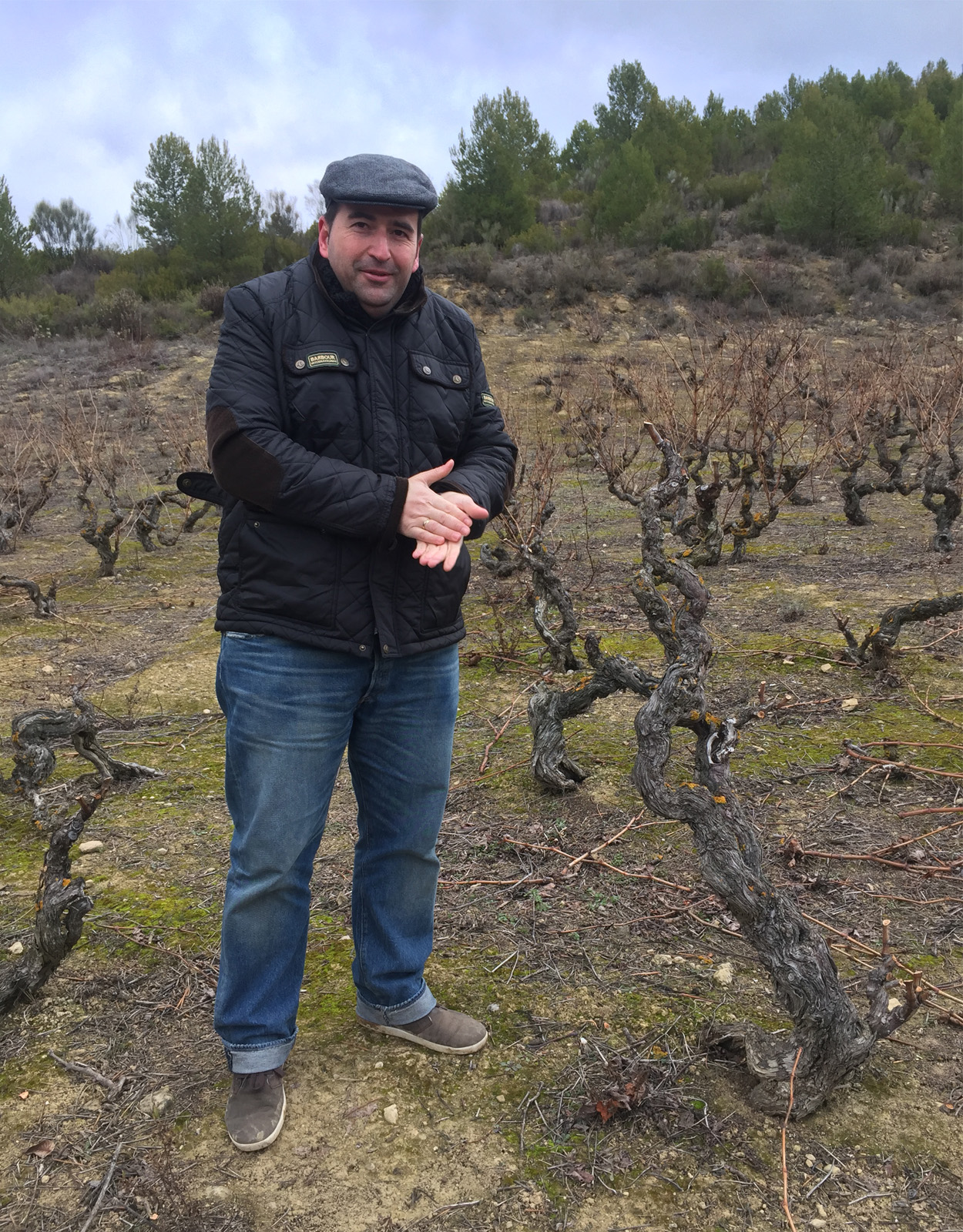 Roberto Ijalba, winemaker at Bodegas Santalba