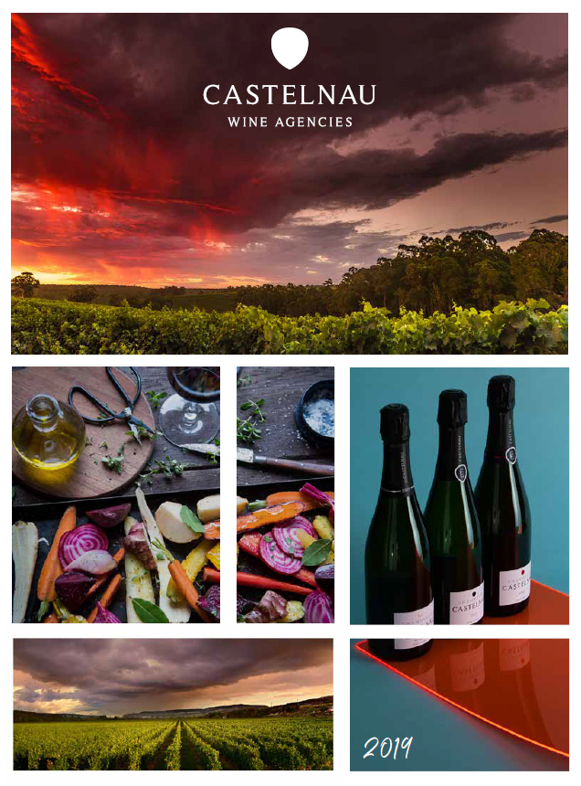 Front Cover Castelnau Wine Agencies Wine List 2019