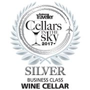 Best Business Class Sparkling at Cellars in the Sky 2017
