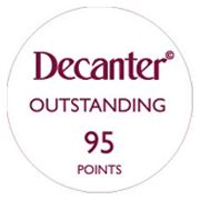 95 Points 'Outstanding'  - Decanter Panel Tasting 2019