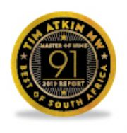 91 Points - Tim Atkin South Africa Report 2019