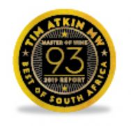 93 Points - Tim Atkin's South Africa Report 2019