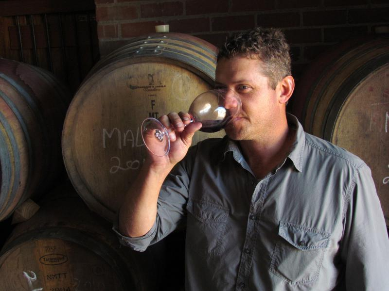 Winemaker Hugo Basson