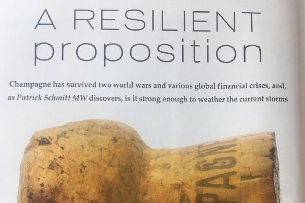 A resilient proposition - The Drinks Business Champagne Report 2019