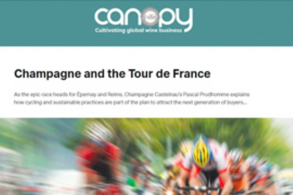 Champagne and the Tour de France - June 2019