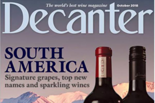 South American Cabernet Franc Decanter Panel Tasting - October 2018